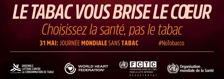 Journee Mondiale Sans Tabac  Banniere