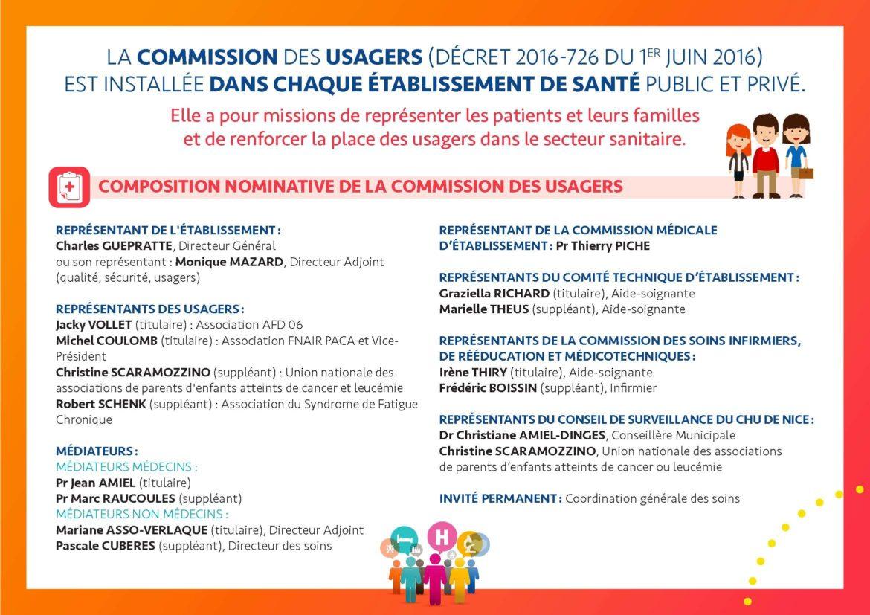 Commission Des Usagers Du Chu De Nice 12 06 2019