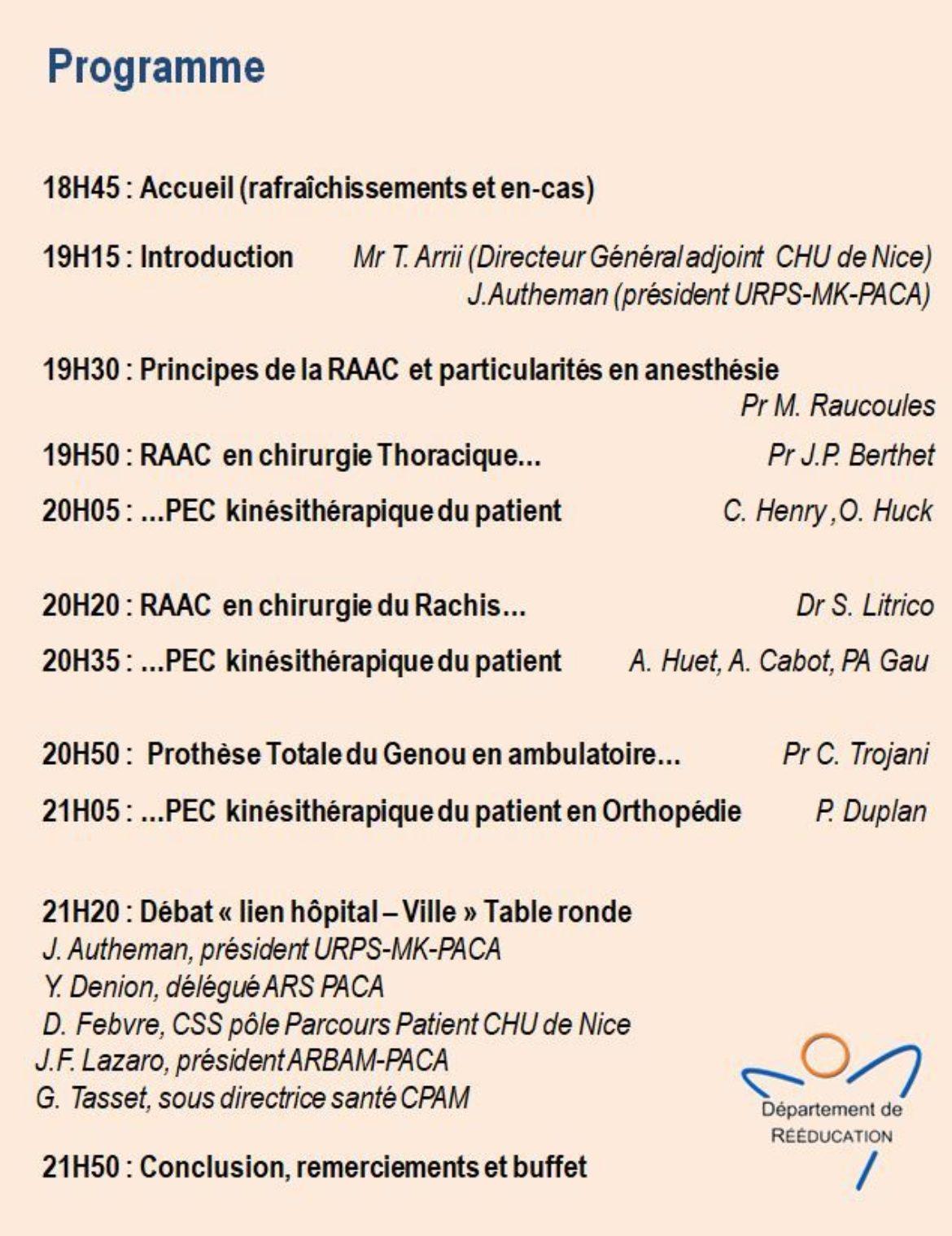 Programme Soiree Raac 06 06 2019
