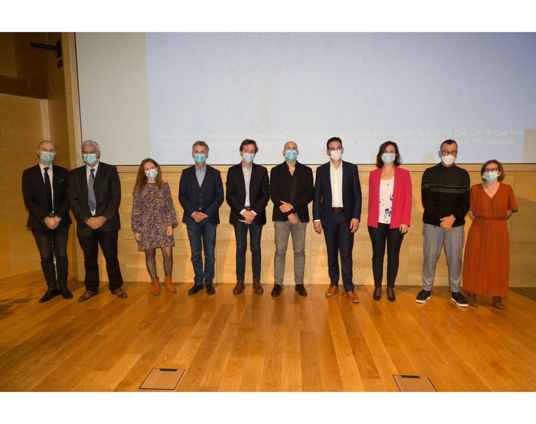 95 Pitchs De Projets De Recherche  Le Jury Et Les 3 Recompenses Min Carre