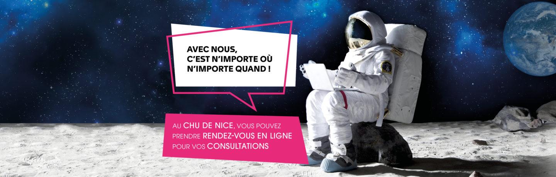 Prise De Rendez Vous En Ligne Au Chu De Nice Slideshow Cosmonaute